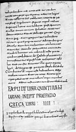 A folio of a c. 800 copy of the Chronicle attributed to Fredegar in a Dutch public collection