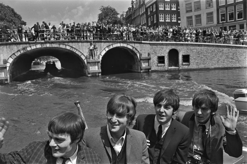 Jimmie Nicol a Beatles-szel Amsterdam-ban