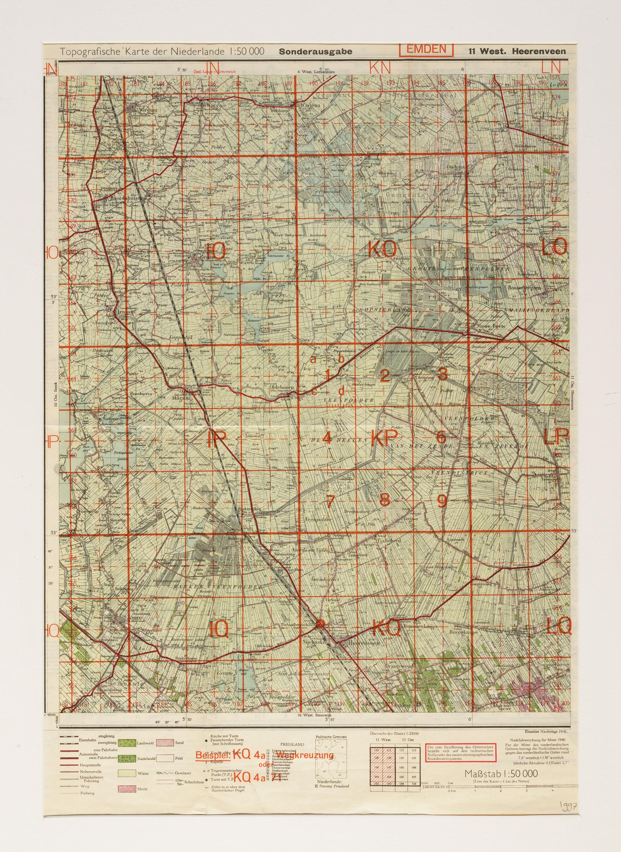Kaart van de zuidoost friesland gebied tussen heerenveen en warten het geheugen van - Kaart evenwicht tussen werk en ...