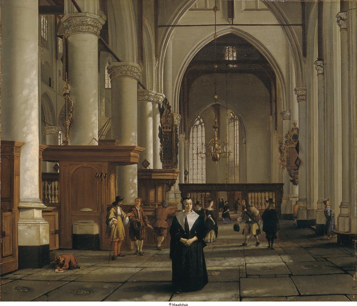 Interieur van de laurenskerk te rotterdam geheugen van for Hartman interieur rotterdam