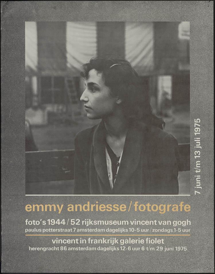 emmy andriesse fotos 1944 52 rijksmuseum vincent van gogh amsterdam 1975