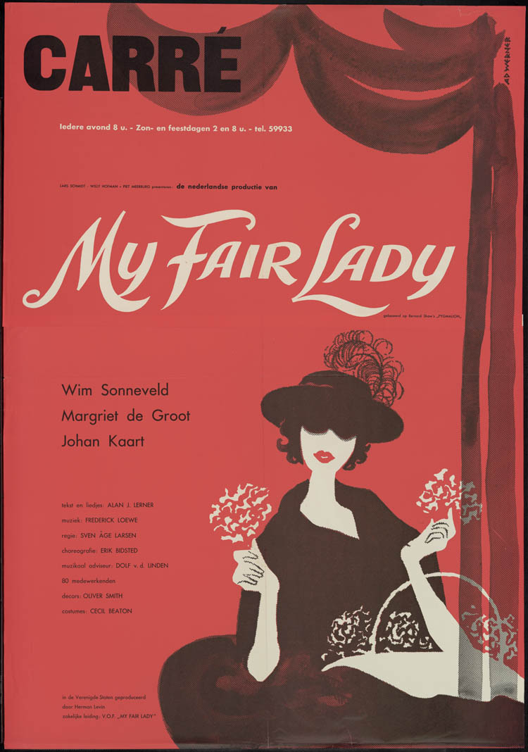 My Fair Lady Bernhard Shaw Carre The Memory