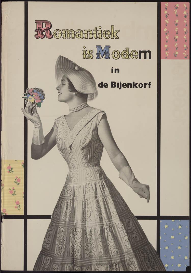 Romantiek is modern in de bijenkorf geheugen van nederland - Klein kamermeisje ...