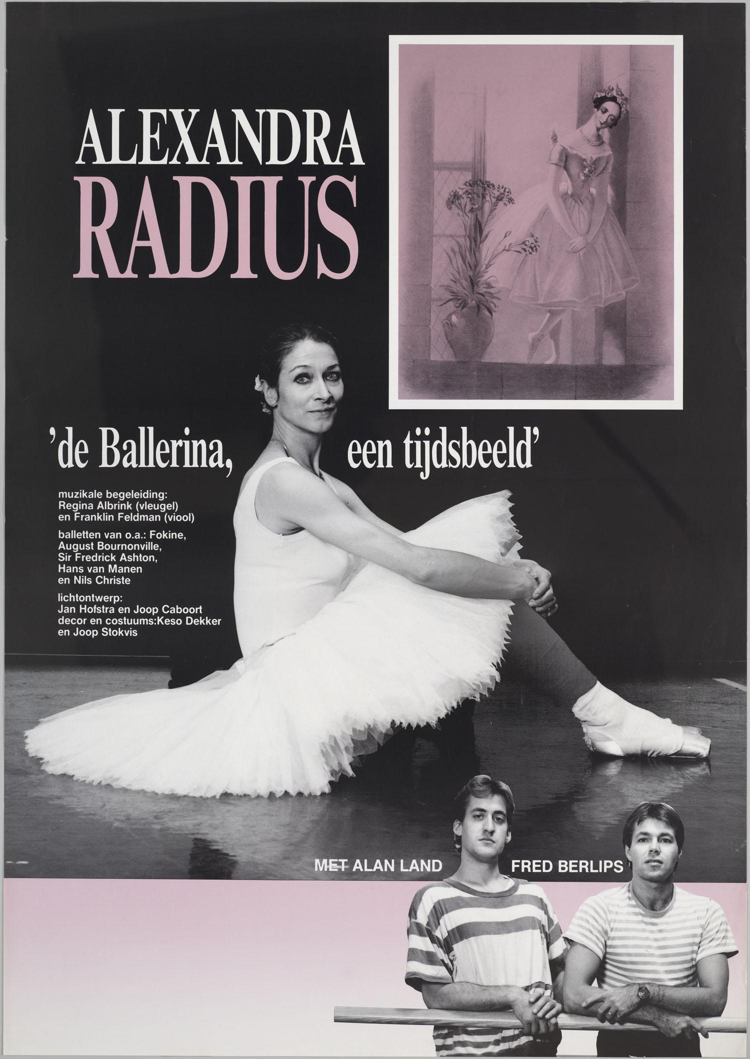Alexandra radius de ballerina een tijdsbeeld geheugen van nederland - Klein kamermeisje ...