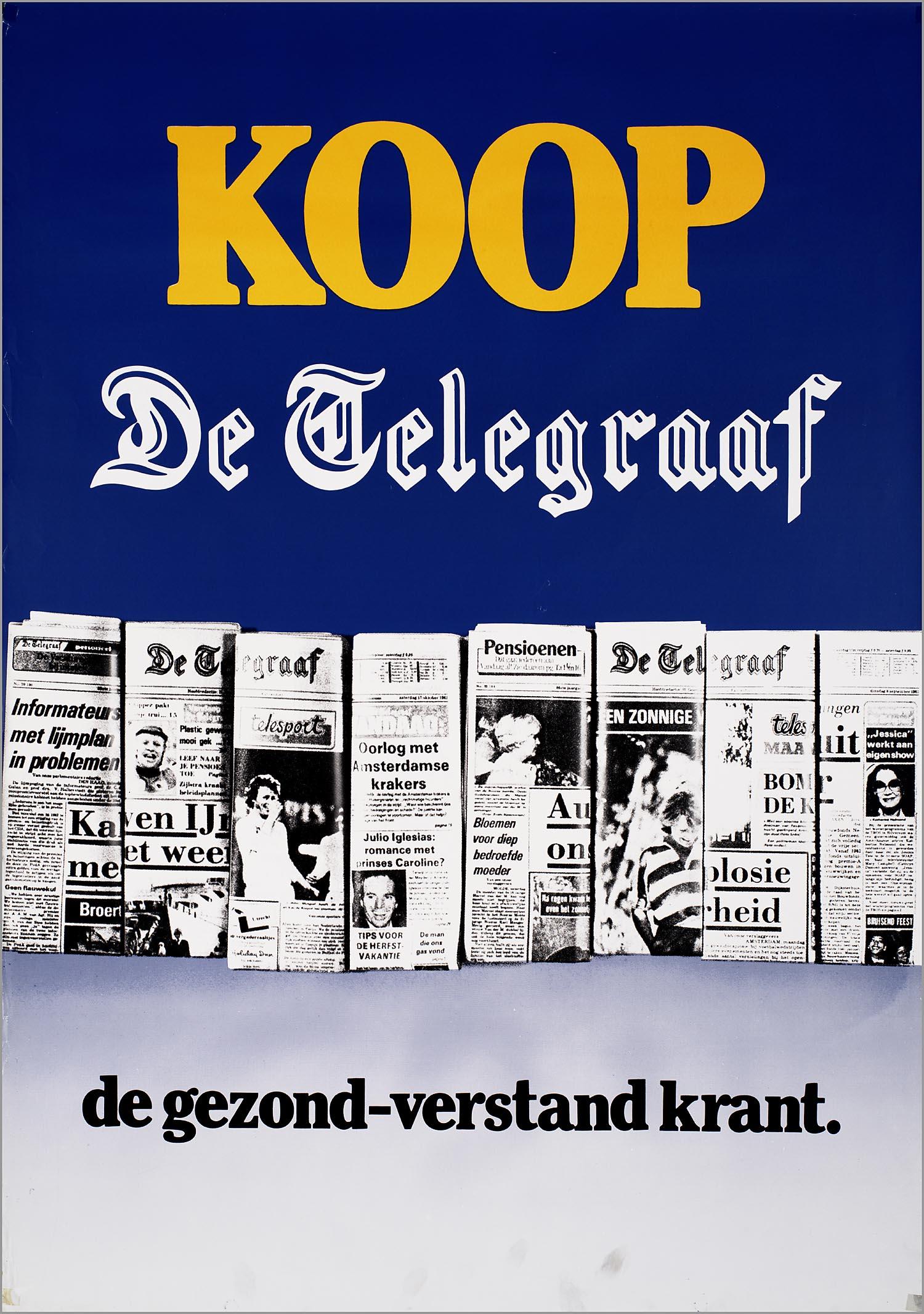 Koop De Telegraaf De Gezond Verstand Krant Het Geheugen