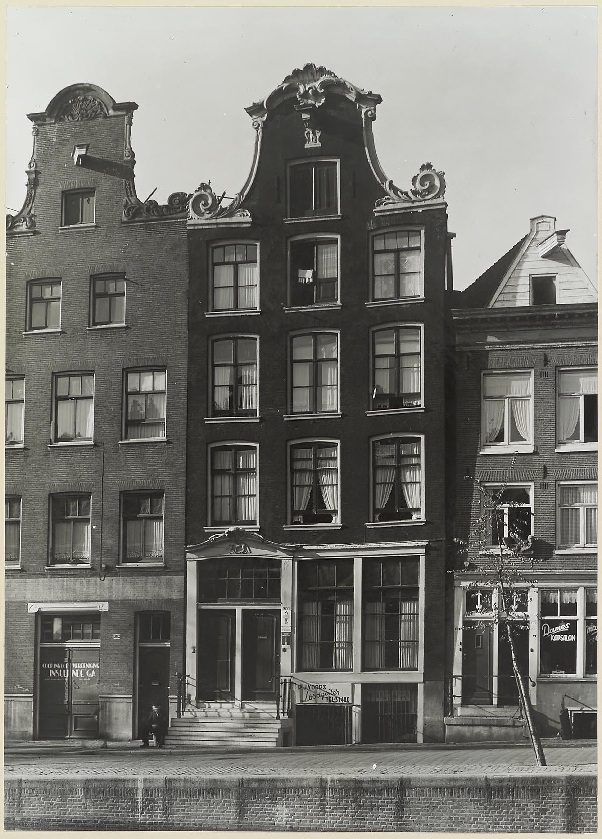 Amsterdam prinsengracht 300 overzicht gevel grachtenhuis het geheugen van nederland online - Provencaalse huis gevel ...