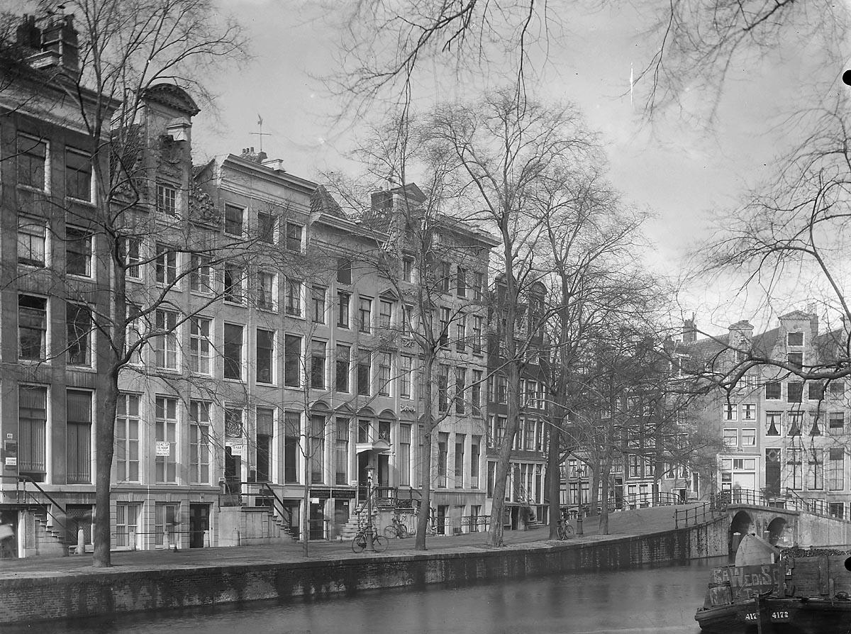 Amsterdam herengracht 390 410 overzicht voorgevels bij for Herengracht amsterdam