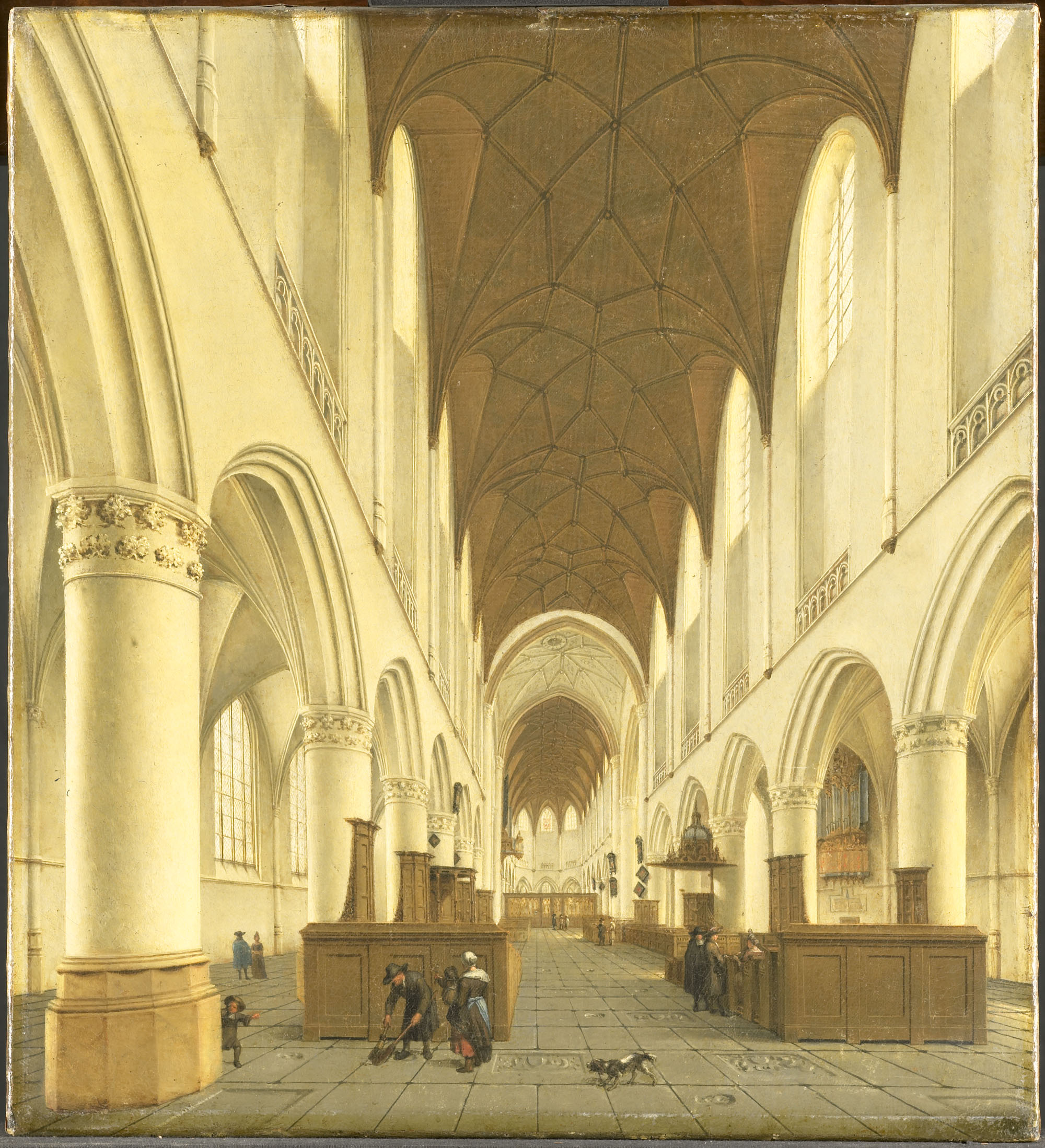 Het interieur van de sint bavokerk te haarlem site title for Interieur haarlem