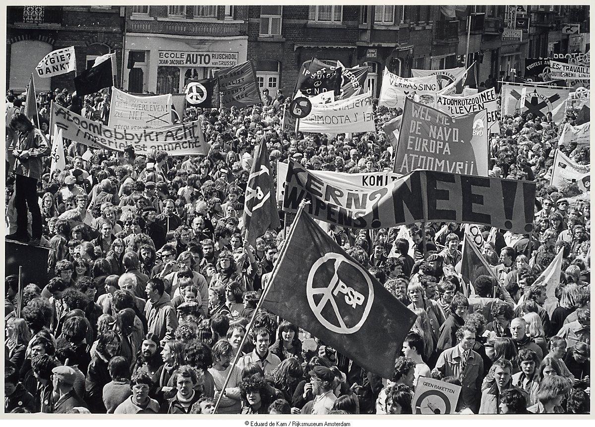Demonstratie voor atoomvrij europa het geheugen van for Demonstratie amsterdam
