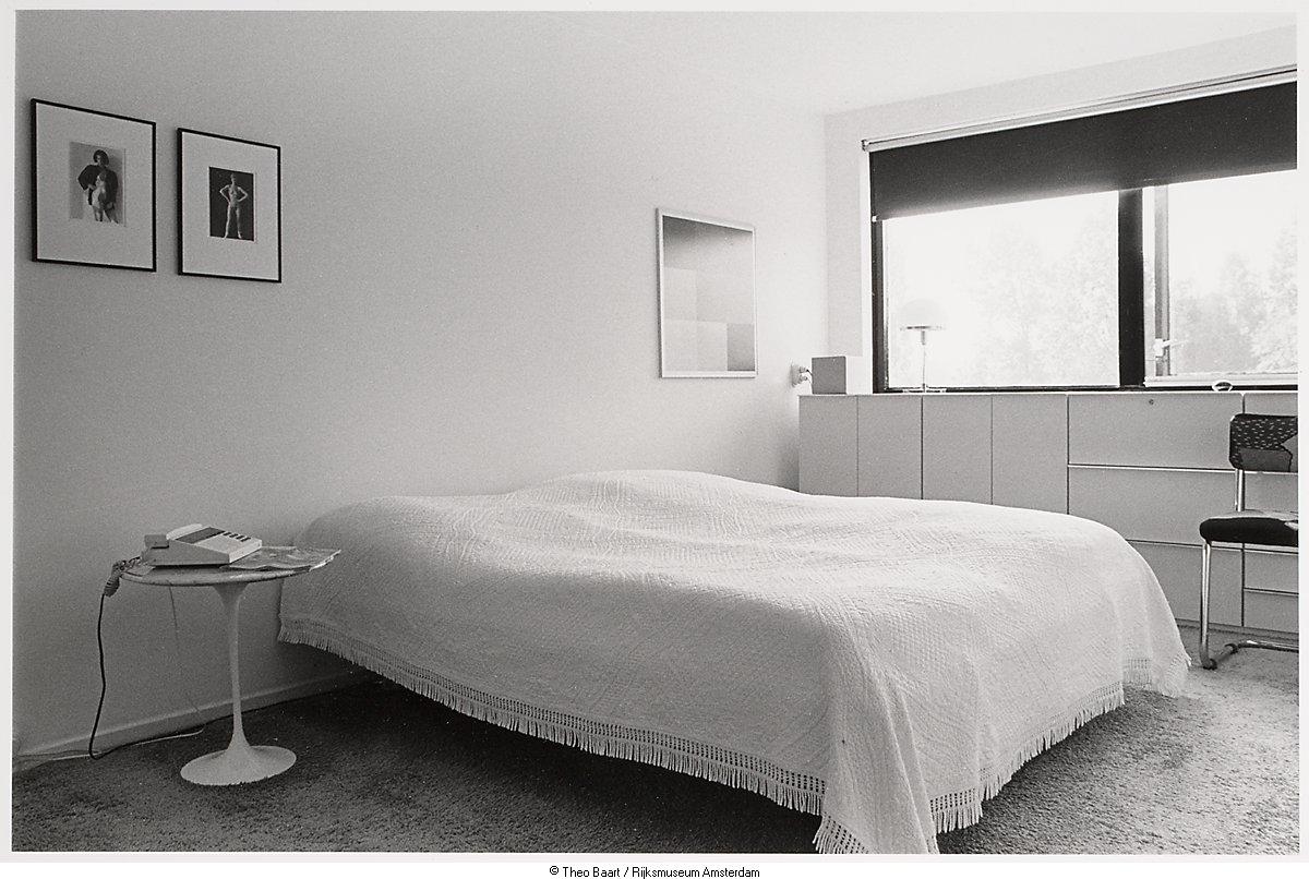 Interieur van slaapkamer het geheugen van nederland online beeldbank van archieven musea en - Interieur slaapkamer ...