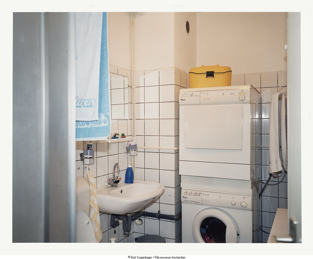 Het oude huis van Petra en Edwin: de badkamer - Geheugen van Nederland