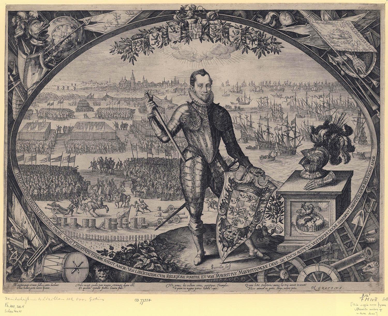 Portret van maurits bij de landing te philippine geheugen van nederland - Klein kamermeisje ...