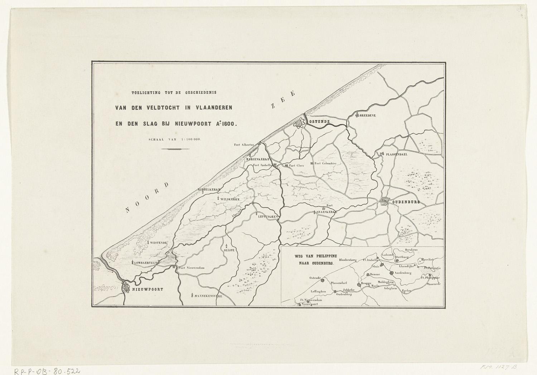 Kaart van de westkust van vlaanderen tussen oostende en nieuwpoort 1600 het geheugen van - Kaart evenwicht tussen werk en ...
