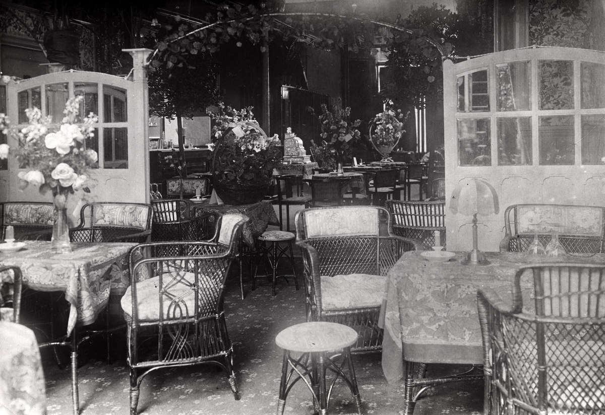 Uitgaansgelegenheden danspaleizen dancings een serre for Interieur 1900