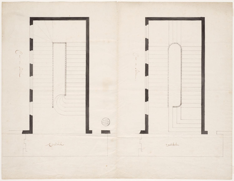 Twee alternatieve ontwerpen voor een trap aan een for Trap ontwerpen