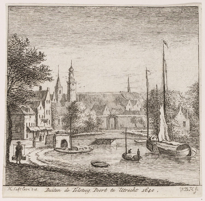 Buiten de tolsteeg poort te utrecht 1640 site title for Cafe de poort utrecht