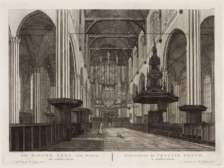 De nieuwe kerk van binne tot amsterdam l 39 interieur de l for Interieur amsterdam