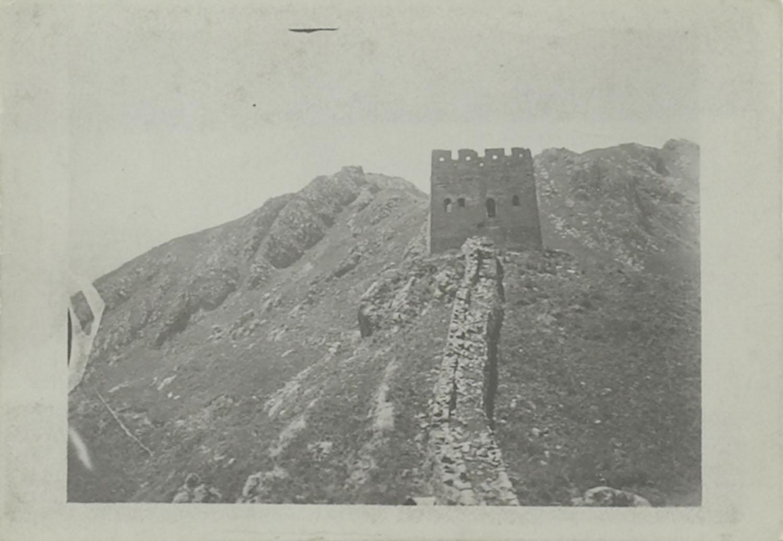 De chinese of grote muur met uitkijktoren in berglandschap het geheugen van nederland online - Ontwikkel een grote woonkamer ...