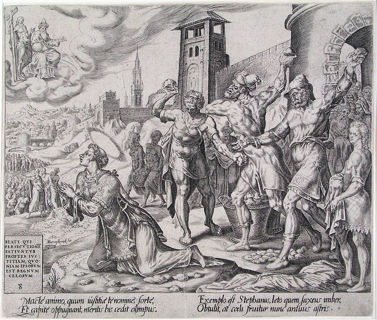 Stefanus, de eerste martelaar van de R.K. Kerk