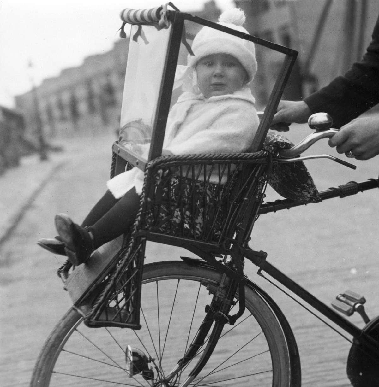 Verwonderend Vervoer, fietsonderdelen: kinderzitje stoeltje met kind/peuter BY-42